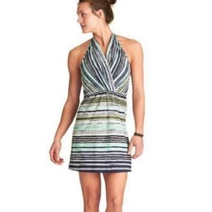 Athleta Go Anywhere Printed Travel Casual Dress